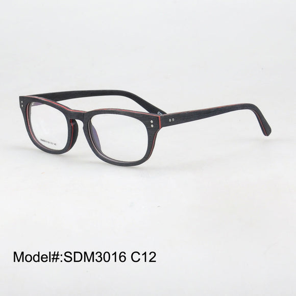 Wood Prescription EyeGlasses -  Myopia Eyewear -  RX Optical Frames