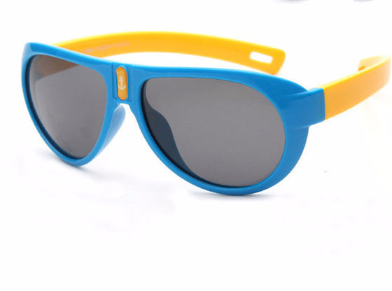 Kids Polarized Sunglasses - Boys / Girls Sunglass Super Light Anti UVA Sun Glasses Pilot Spectacles 824