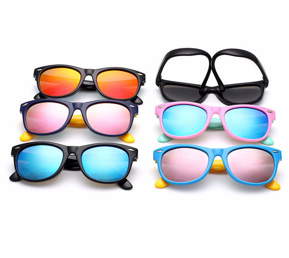 Kids Polarized Sunglasses - Boys / Girl TAC Mirrored Outdoor Safety Glasses
