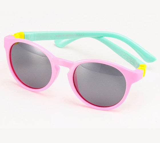 Kids Polarized Sunglasses - Girls / Boys Sunglasses - Anti UV Sun Protection Eyewear