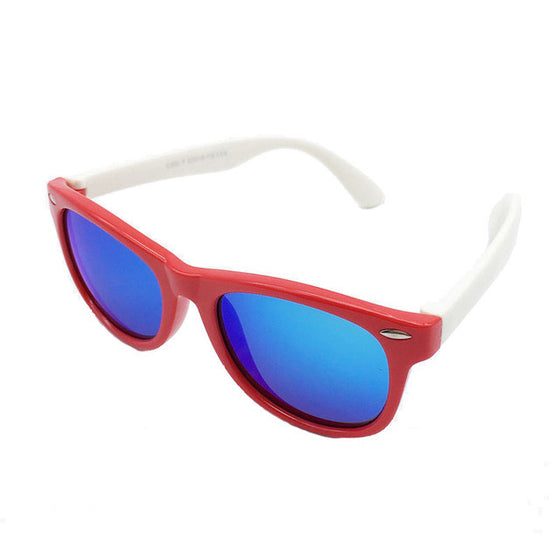 Kids Polarized Sunglasses - Girls / Boys Mirrored Sport Sun Glasses