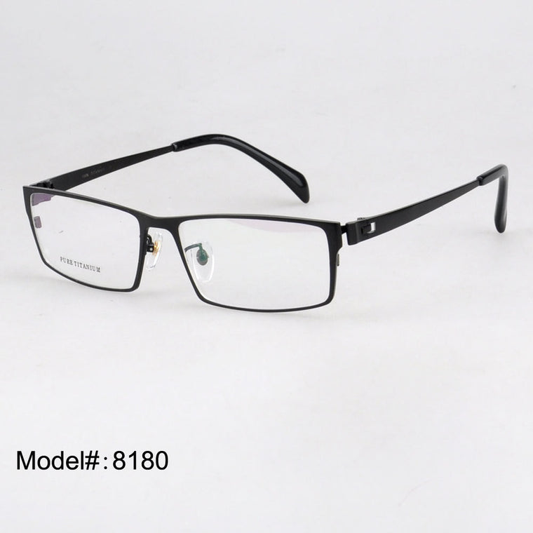 Titanium Optical Eyeglasse Frames - New  Myopia Eyewear Spectacles - Unisex 8180
