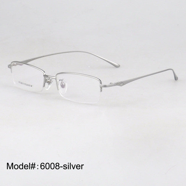 Titanium Optical Eyeglasse Frames - New  Myopia Eyewear Spectacles - Unisex 6008