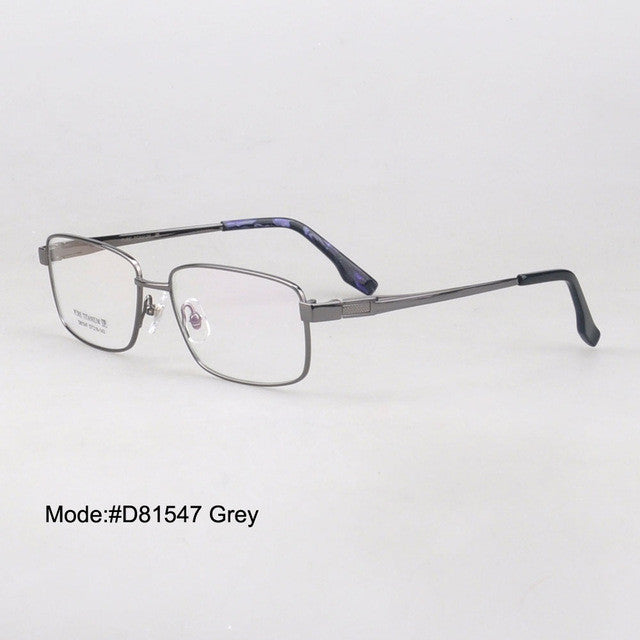 Titanium Optical Eyeglasse Frames - New  Myopia Eyewear Spectacles - Unisex D81547