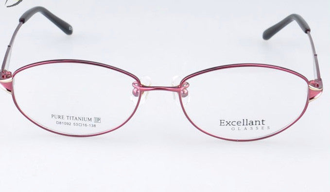 Titanium Optical Eyeglasse Frames - New  Myopia Eyewear Spectacles - Unisex D81092