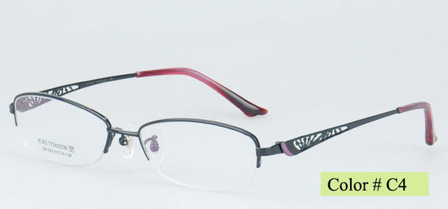 Titanium Optical Eyeglasse Frames - New  Myopia Eyewear Spectacles - Unisex  81353