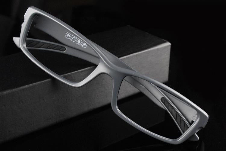 BZ /  Full Rim - TR90 Anti-Slip Square Frame Myopia Glasses - Prescription Glasses Optical Myopia Eyewear -  New Protection Eyeglasses