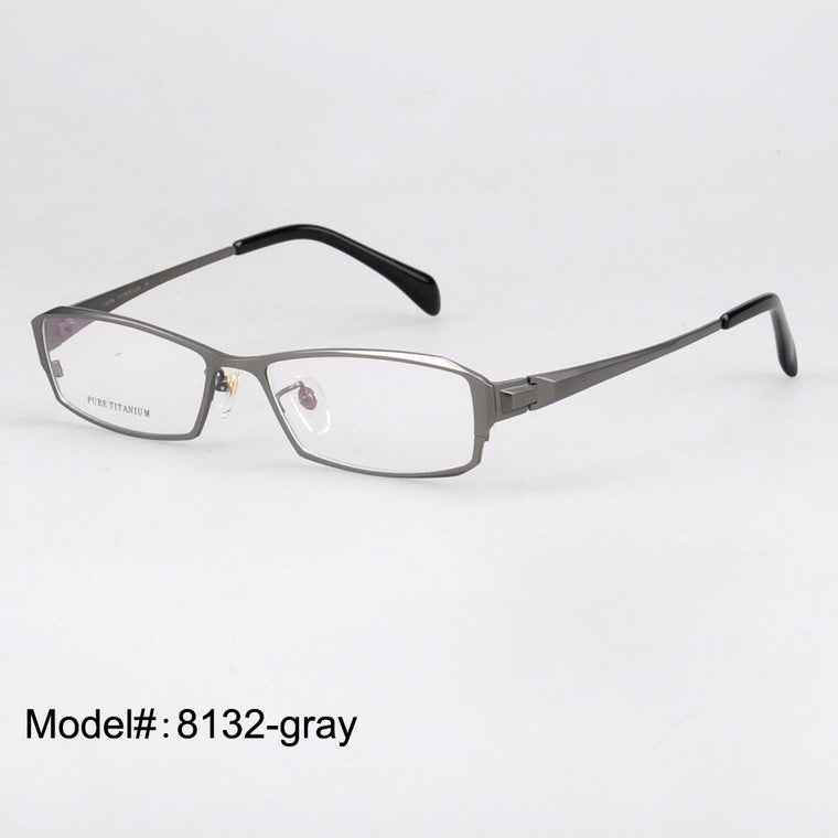 Titanium Optical Eyeglasse Frames - New  Myopia Eyewear Spectacles - Unisex 8132
