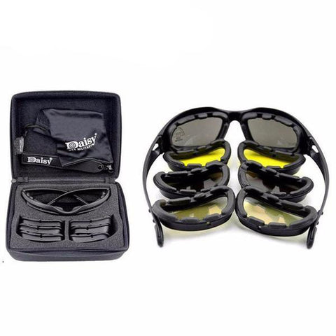 Image of Polarized Military Style Sunglasses Shock Resistant