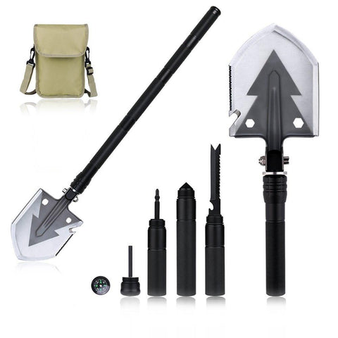 Image of Heavy Duty Multifunctional Survival Shovel