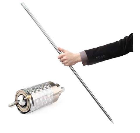 POCKETSTAFF™ - PORTABLE MARTIAL ARTS METAL STAFF