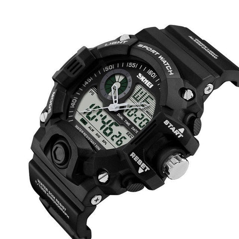 Image of Men's SHOCK RESISTANT Sport Army Wrist Watch