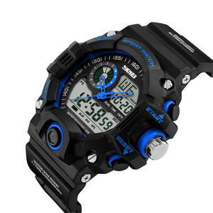 Men's SHOCK RESISTANT Sport Army Wrist Watch