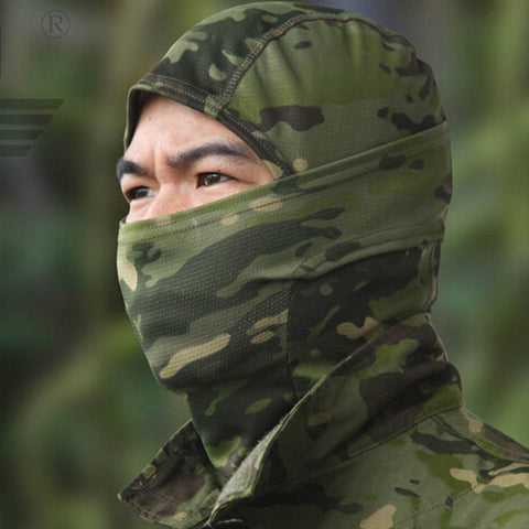 Camouflage Mask Full Face