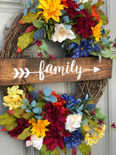 Colors of Fall Wreath