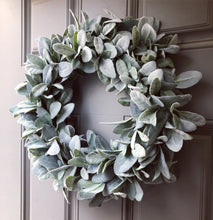 "16-17""  Lambsear Wreath"