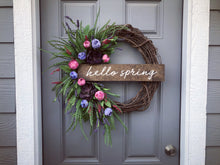 Whispy Floral Wreath