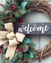 Red Farmhouse Welcome