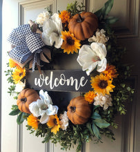 Karen Pumpkin Wreath
