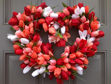 Tulip Heart Wreath (SOLD OUT)