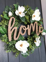 Farmhouse Home Wreath (Made to Order)