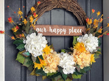 XL Happy Hydrangea Wreath