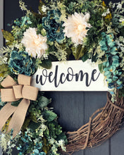 XL Flowy Fall Garden Wreath