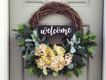 Darling Hydrangea Wreath