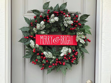 Merry & Bright Berry Wreath