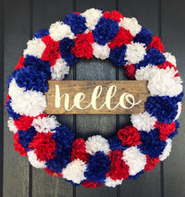 SALE!!! Carnation Red White & Blue