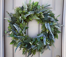 Full Custom Greenery Wreath for Annie