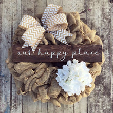 Every Season Burlap Wreath (Made to Order)