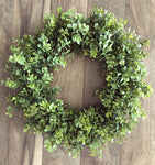 "22"" Boxwood Wreath (Made to Order)"