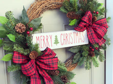 Christmas Pine Wreath