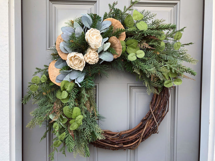 All Winter Wreath (Ready to Ship)
