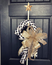 Candy Cane Wreath (Made to Order)