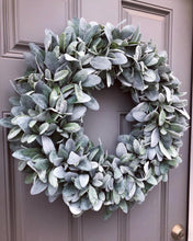 "22-24"" Lambsear Wreath (Made to Order)"