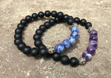 2 PC SET! Power Couple Bracelets - Galaxy Accessories