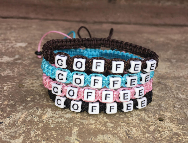 Adjustable COFFEE Bracelet - Galaxy Accessories