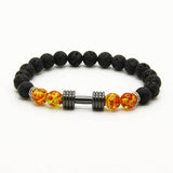 Lava Dumbbell Gym Bracelet - Galaxy Accessories
