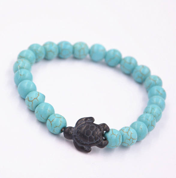 Turtle Bracelet - Turquoise - Galaxy Accessories