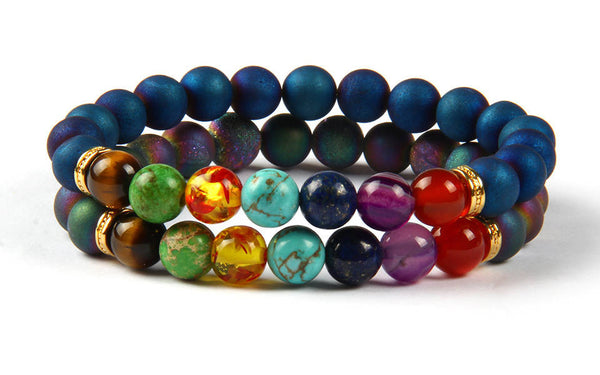 Mystical Yoga Bracelets Set - Galaxy Accessories