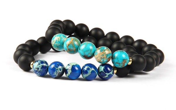 Travel Bracelets Set - Galaxy Accessories