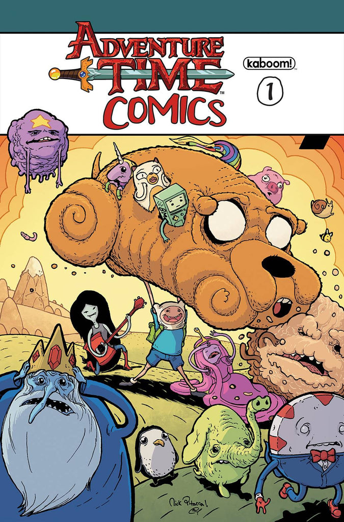 ADVENTURE TIME COMICS #1 20 COPY INCV PITARRA VAR