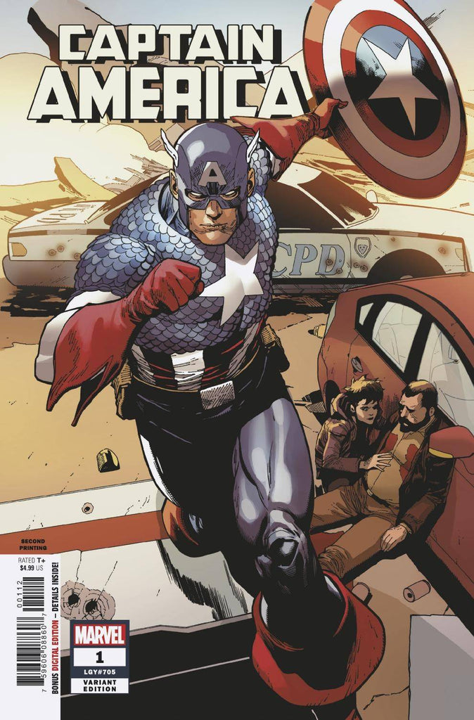 Captain America (2018 9th Series) #1P
