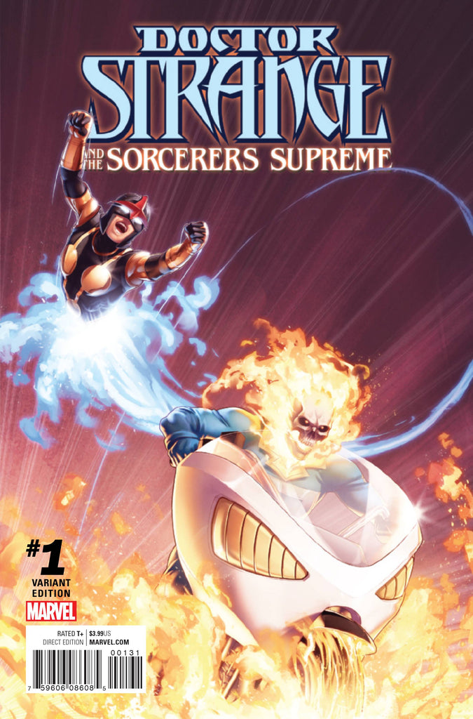 Doctor Strange and the Sorcerers Supreme (2016) Now #1C