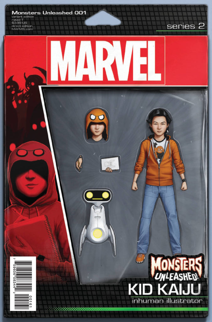 MONSTERS UNLEASHED #1 CHRISTOPHER ACTION FIGURE VAR