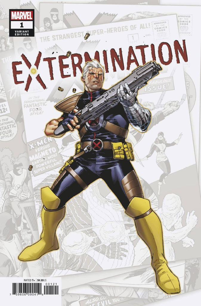 EXTERMINATION #1 (OF 5) COIPEL VAR