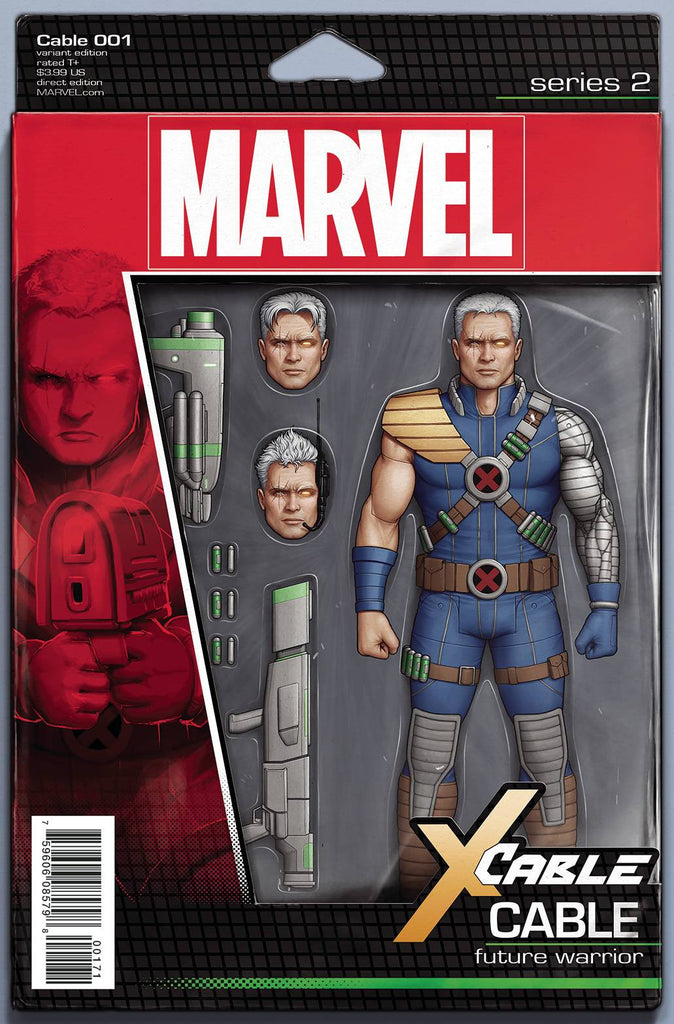 CABLE #1 CHRISTOPHER ACTION FIGURE VAR