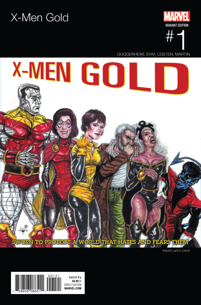 X-MEN GOLD #1 DAVIS HIP HOP VAR